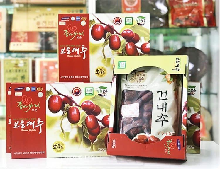 Táo đỏ vùng Gyeongsan - Hàn Quốc