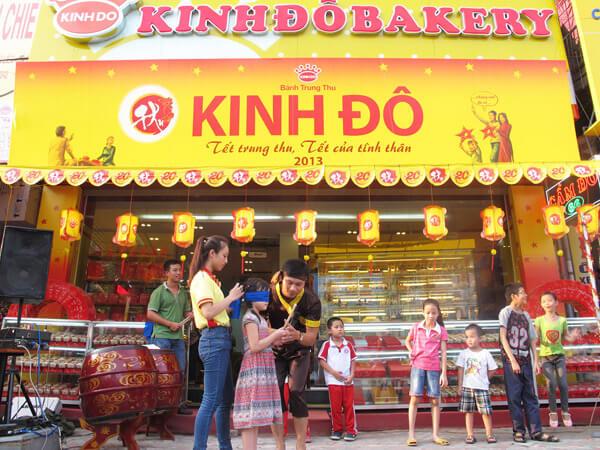 Kinh Đô là thương hiệu bánh trung thu đã gắn bó với lâu dài suốt nhiều mùa trung thu qua với các gia đình Việt Nam