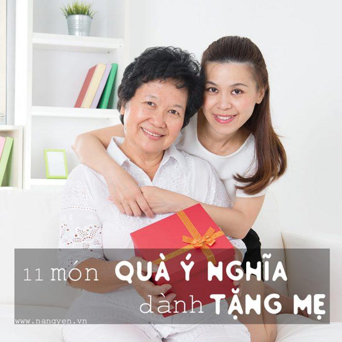11 món quà ý nghĩa thiết thực dành tặng mẹ